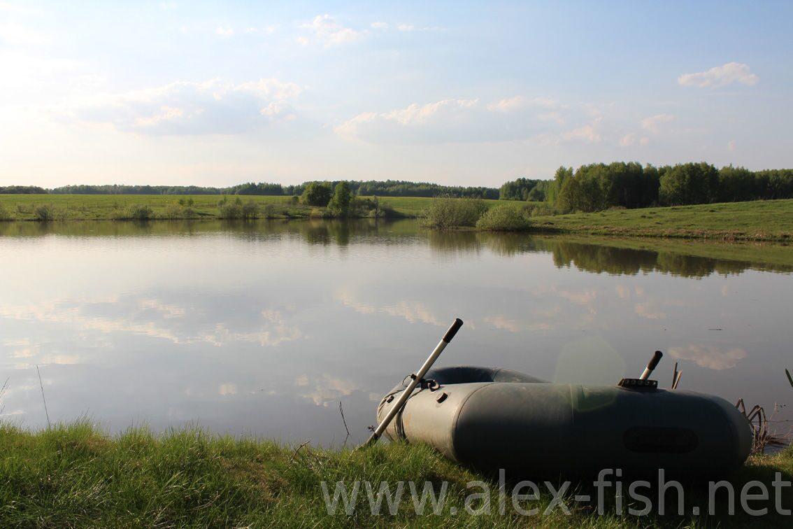 рыбалка на прудах в митяево