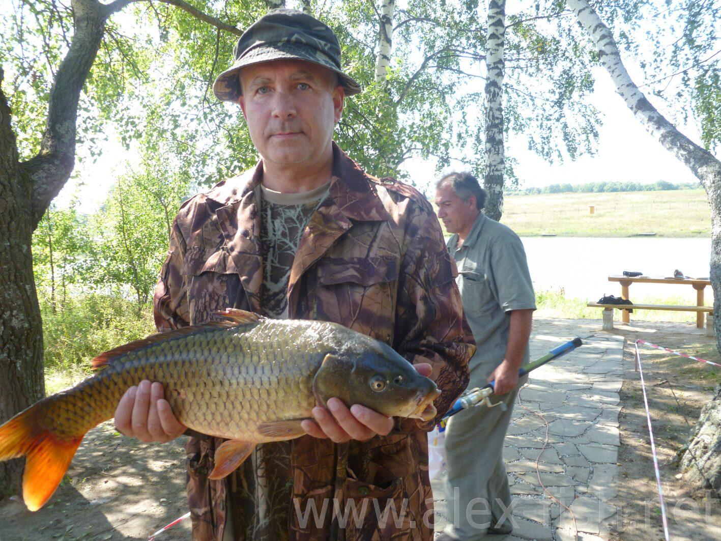 рыбалка в районе тепличного