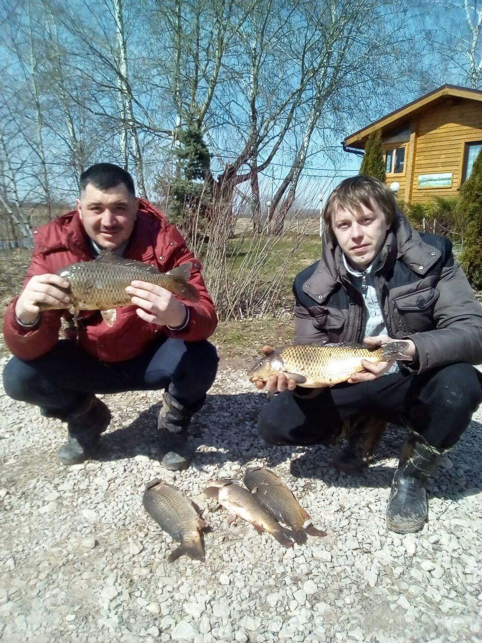 Рыбалка в лескене